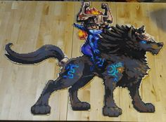Twilight Princess - The Legend of Zelda: Twilight Princess perler beads by ThePerlersEdge (30 inches tall and 35 inches wide)
