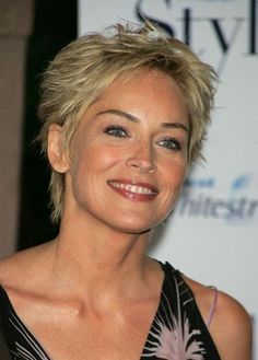new hair styles pic rocks see many ageless looks 6551 | 85a9c0692b2875a6551c3a2849762d10 womens long hairstyles sharon stone hairstyles
