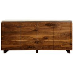 Custom Germani & Smith Solid Walnut Sideboard | From a unique collection of antique and modern sideboards at http://www.1stdibs.com/storage-case-pieces/sideboards/