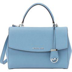 a066ec8e490b54 MICHAEL Michael Kors Ava Medium Satchel Satchel ($208) ❤ liked on Polyvore  featuring bags