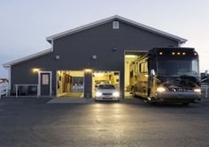 RV Garage with Living Quarters
