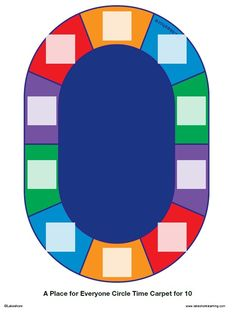 Seating Chart For Lakeshoreu0027s A Place For Everyone Circle Time Carpet For  10. Click On
