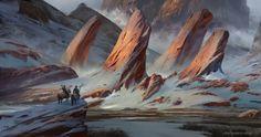 ArtStation - Snowy Rocks, Prathamesh More