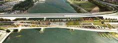 Galeria - OMA   OLIN vencem concurso para projetar um parque elevado em Washington D.C. - 121