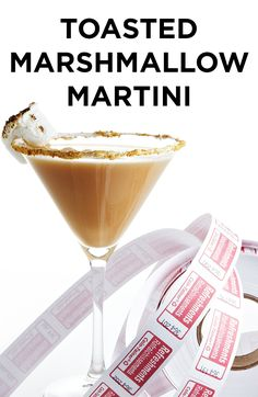Skip the rounds of Kumbaya and enjoy a campfire-free, scrumptiously delicious Toasted Marshmallow Martini.