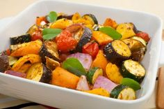 End-of-Summer Roasted Veggies Recipe