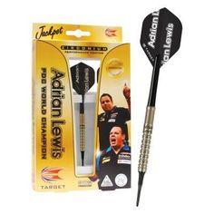 Target Darts Adrian Lewis Zirconium Soft Tip Darts - 18 grams - 122300