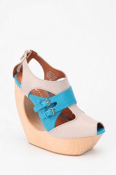Jeffrey Campbell Rock Me Platform Sandal  #UrbanOutfitters