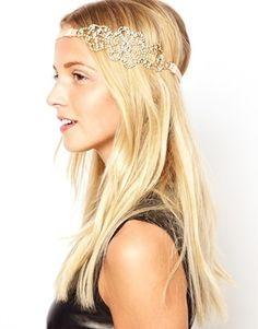 Erin Elizabeth For Johnny Loves Rosie Rhinestone Section Headband