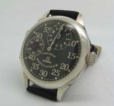 vintage Omega Regulateur