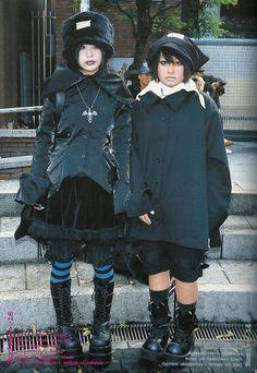 Harajuku Mode, Harajuku Fashion, Lolita Fashion, Alternative Outfits, Japanese Street Fashion, Asian Fashion, Fruits Magazine, Lolita Mode, Gothic Lolita