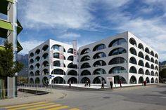 ÖKK head office   Landquart, Graubünden, Switzerland   Bearth & Deplazes Architekten AG