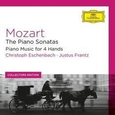 MOZART Piano Sonatas / Eschenbach, Frantz - 8 CDs / Deutsche Grammophon