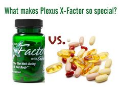 What makes Plexus X Factor so special vs. regular vitamins?
