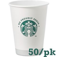 Starbucks Paper Cup at Lowe's. of hot or cold beverages. FDA-approved cup is lined with Poly-Lactic Acid (PLA), a plant-based resin and is compostable in Starbucks Coffee, Hot Coffee, Coffee Cups, Starbucks Drinkware, Coffee Cup Sleeves, Coffee Nook, Disposable Cups, White Cups, Coffee Company