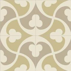 "Mission Trebol - B 8"" x 8"" Handmade Cement Tile. Possibly for my kitchen table? @Hannah Rebekah @Stephanie Bicksler-Goodrich"