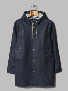 Stutterheim Stockholm Raincoat (Navy)