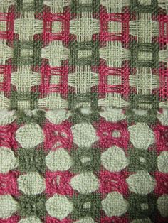 Deflected doubleweave pre and after washing IMG_3600   Flickr - Photo Sharing!