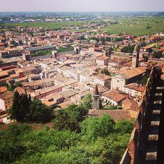 View from Castello di Soave, Veneto, IT