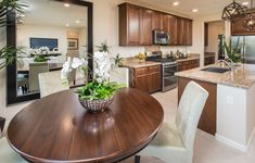 The Logan Dining Nook - Plan 2426 New Home Plan in Palisades at Blackstone #dreamhome