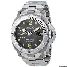 6d812d8327a Panerai Luminor Submersible Automatic Titanium Mens Watch 00106 Panerai  Luminor Submersible