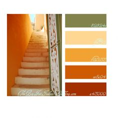 desert breeze color palette