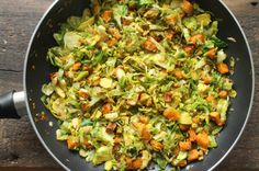 Jalapeno & Lime Sweet Potato Brussels Sprouts Hash