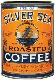 Silver Sea Coffee tin