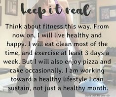 I exercise alot more than that but the statement itself says it all