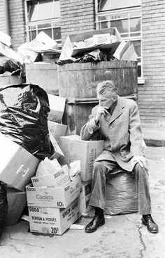 """""""All of old. Nothing else ever. Ever tried. Ever failed. No matter. Try again. Fail again. Fail better."""" ― Samuel Beckett, Worstward Ho"""