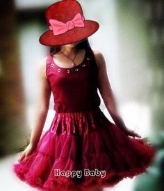 Hot Predaj Ženy Krásna Ruffled Fluffy šifón vína červené Princess Pettiskirt Tutu sukne Adult Size-in Sukne od Dámske Oblečenie a doplnky na Aliexpress.com | Alibaba Group