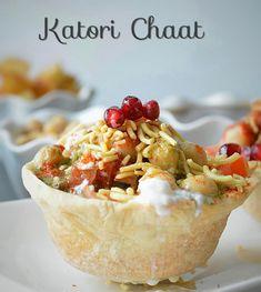 Katori Chaat Recipe – Ruchi's Kitchen