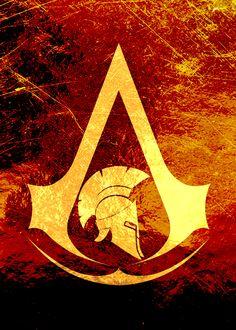 Assassin's Creed Odyssey Tatouage Assassins Creed, Assassins Creed Tattoo, Assassins Creed Quotes, Assassins Creed Series, Deutsche Girls, Asesins Creed, Assassin's Creed Wallpaper, Spartan Tattoo, Sword Art Online