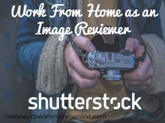 Work from home as an image reviewer for Shutterstock.