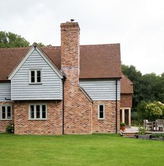 Weatherboarding example for top half of house. Manor Houses - Border Oak - oak framed houses, oak framed garages and structures.