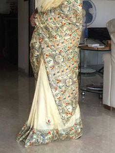 Madhubani Saree available on www.buddhaandbeyond.com