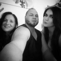 """Mää ja mun """"laulajatytöt"""" :D  #ruisrock #varjobileet"""