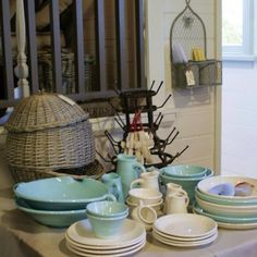 Tony Sly pottery at Femme De Brocante Pottery, Kitchen, Home, Ceramica, Cuisine, Kitchens, Ad Home, Homes, Pots