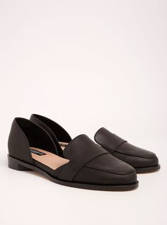 5cf511e3f9b Torrid Collection Genuine Leather Loafers (Wide Width)