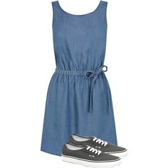 Untitled #198 by thedonutkitty on Polyvore featuring polyvore fashion style Oasis Vans