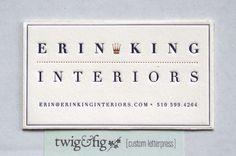 Erin King Interiors by Damian King, via Behance