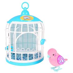 BOUGHT!!!    Little Live Pets Season 2 Bird with Cage - Krissy Crystal