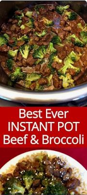 Instant Pot Beef And Broccoli | foodrink