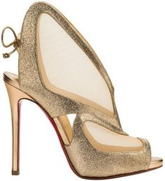 "Christian Louboutin's Spectacular Designs for ""Farfamesh"" Sandal Spring/Summer 2014"