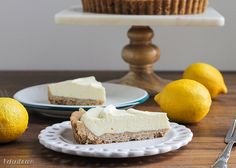 Lemon Cream Tart with Browned Butter Crust -  bakerita
