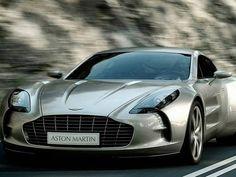 Aston Martin One-77 Aston Martin One-77 (1,85 milhão de dólares) - É um carro dos sonhos de qualquer homem. O esportivo está entre os mais poderosos, já que é equipado com um motor 7.3L V12 que ruge aos 354 quilômetros por hora