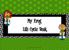 My Frog Life Cycle Booklet from Mrs. R's Sweet Creation Station on TeachersNotebook.com -  - Frog Life Cycle