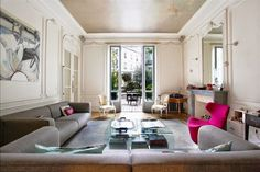 Best classic modern mixed interiors images