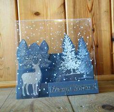 stepper Christmas card