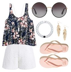 """Ready 4 Summer"" by itzvictoriadinh ❤ liked on Polyvore featuring Chicwish, Aéropostale, Hollister Co., Dolce&Gabbana, Marc Jacobs, Lokai and Humble Chic"